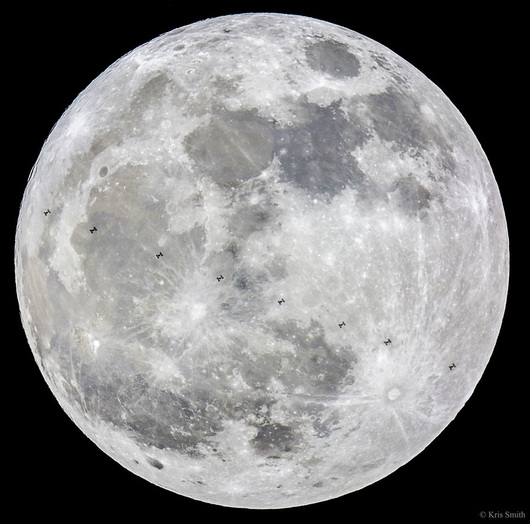 Super Moon image from NASA